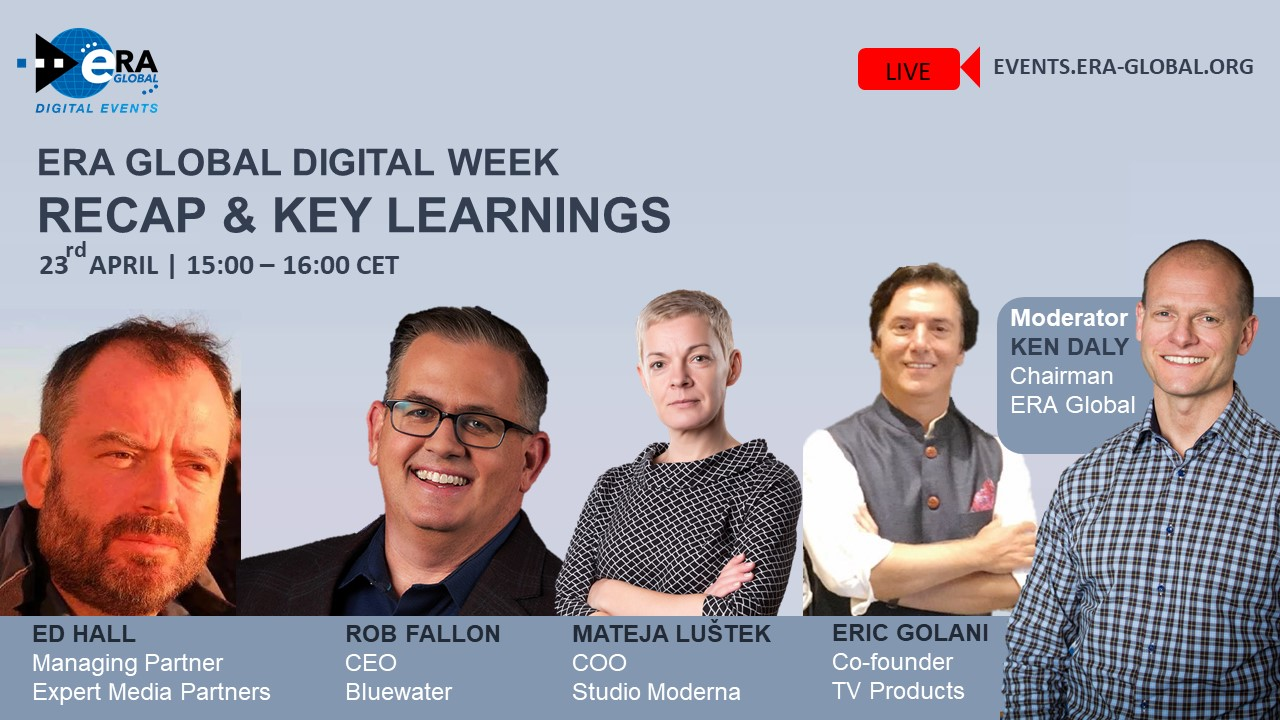 ERA GLOBAL Digital Week Recap